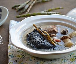 石斛松茸乌鸡汤-滋补而不燥的养生汤的做法