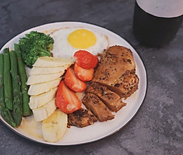 销魂早餐-蒜香鸡胸肉的做法