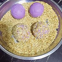 紫薯糯米饼的做法图解5