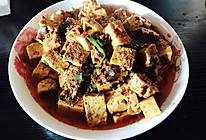 川味麻婆豆腐,快手菜的做法