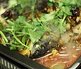家庭版巫山烤鱼的做法