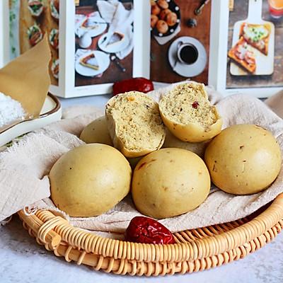 红枣杂粮馒头