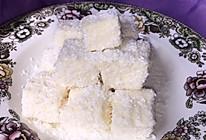 最简单的小甜品—椰丝奶油小方的做法