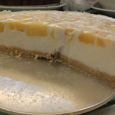 免烤芒果布丁蛋糕(8寸)