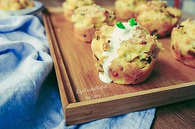 终于等到美味的你~~土豆泥泡芙 #太太乐鲜鸡汁西式