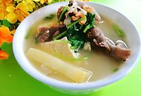#合理膳食 营养健康进家庭#土豆冻豆腐羊肉汤的做法
