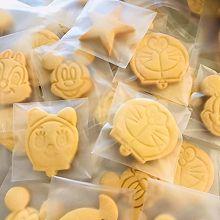 """卡通曲奇饼干#2021亲子烘焙组——""""焙""""感幸福#"""