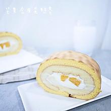 早餐:芒果虎皮蛋糕卷