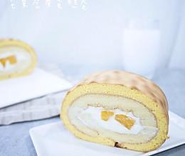 早餐:芒果虎皮蛋糕卷的做法