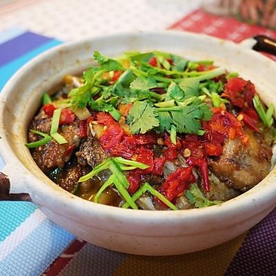 剁椒豆腐鱼头煲