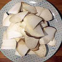 杏鲍菇炒肉片的做法图解2