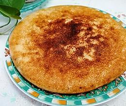 松软的玉米面饼