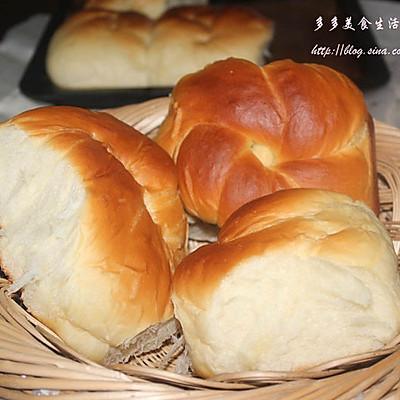 老式面包(附面包机快速出膜法)