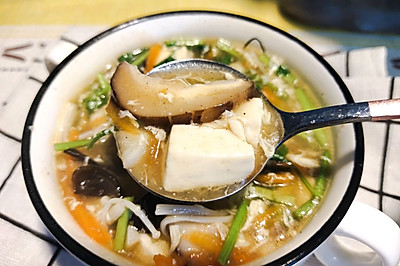 好喝开胃酸辣汤