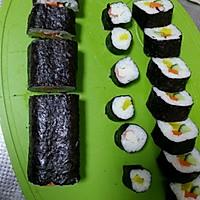 基础卷寿司(含寿司醋),反卷,握寿司,军舰寿司的做法图解22