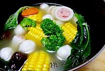 营养靓汤——煮菜的做法