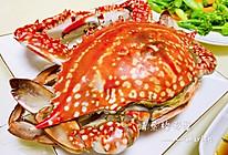 最原汁原味的吃法—清蒸梭子蟹的做法