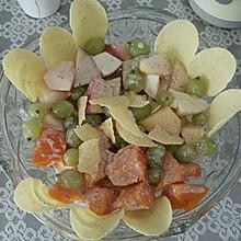 南瓜水果沙拉 #丘比沙拉汁#