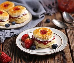 【英式司康小面包】不打发不揉面,也能轻松做出经典英式下午茶的做法