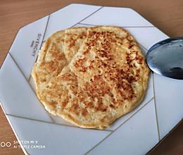 豆腐鸡蛋饼(低脂高蛋白)的做法