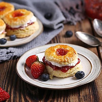 【英式司康小面包】不打发不揉面,也能轻松做出经典英式下午茶