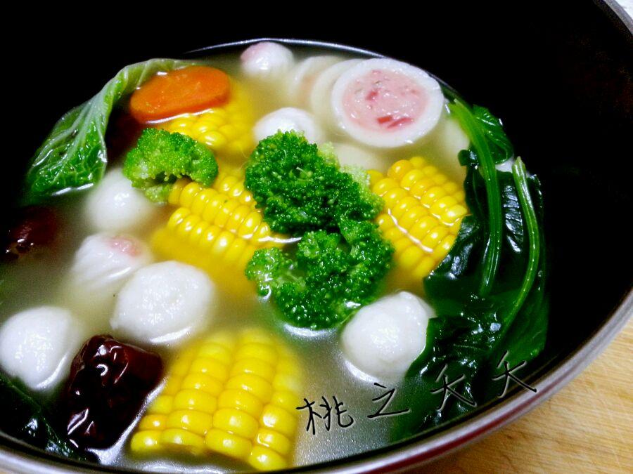 营养靓汤——煮菜