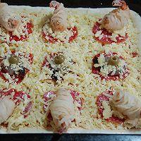 芝士大虾披萨的做法图解16
