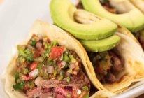 【墨西哥卷饼】嘴都合不拢的肉夹馍,看着也开心!的做法