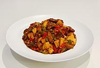 杏鲍菇蒜香黑椒牛肉粒的做法