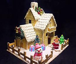 圣诞姜饼屋(无姜植物油版)的做法