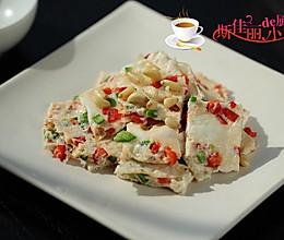 青红椒咸蛋白饼#豆果6周年生日快乐#的做法