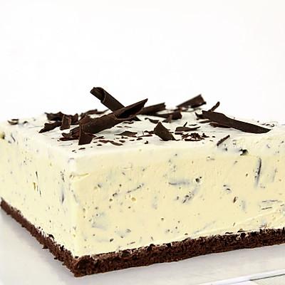 夏天冰爽的冰淇淋蛋糕