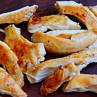 凉拌中式鸡胸意面│瘦身低脂减肥餐的做法图解3
