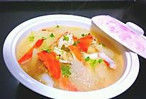 鲜蟹冬瓜汤的做法