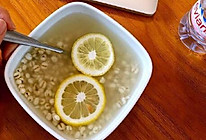 ~ 既能消水肿又能祛湿的 柠檬薏仁水 的做法