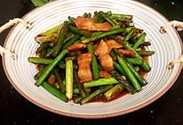 #中秋宴,名厨味#蒜苔小炒肉的做法