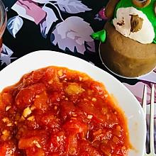 #一人一道拿手菜# 蕃茄一道菜