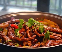 干锅鸭掌(这会是你见过最详细的干锅菜谱)的做法