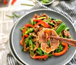 蒜苗鸡胗#快手又营养,我家的冬日必备菜品#的做法