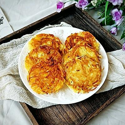家常土豆丝饼