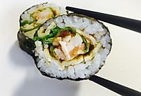 虾仁寿司卷的做法
