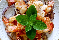 #一虾三吃#香酥虾球&虾头油炒饭&生菜虾头汤的做法