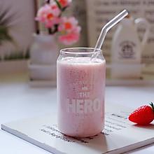 #精品菜谱挑战赛#牛奶草莓奶昔