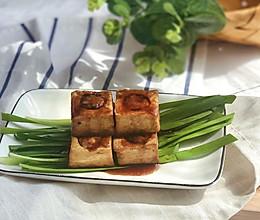 消耗饺子馅·酿豆腐的做法