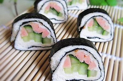 土司寿司卷