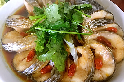 清蒸孔雀鱼