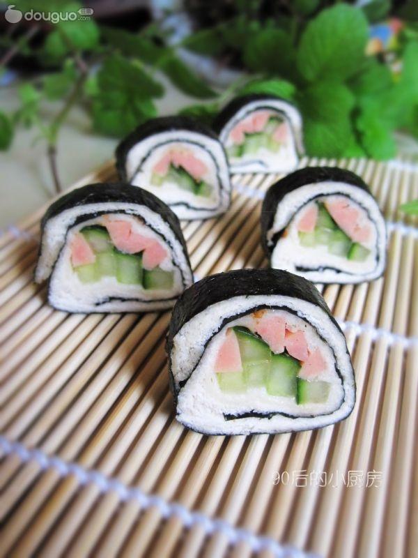 土司寿司卷的做法