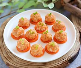 清蒸虾丸的做法