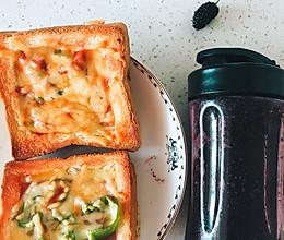 10分钟简易披萨-工作日早餐的做法