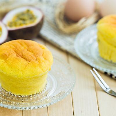 百香果云朵蛋糕